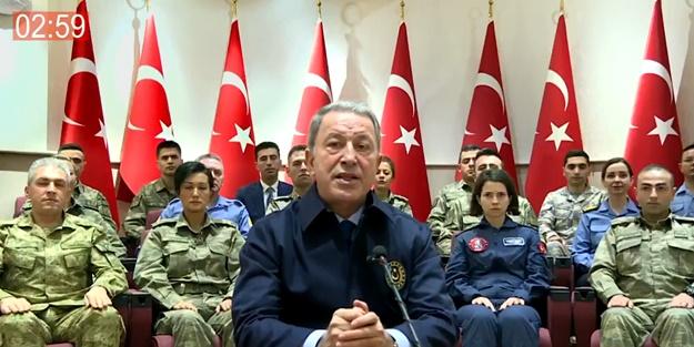 Milli Savunma Bakanı Hulusi Akar 2019'daki faaliyetleri anlattı