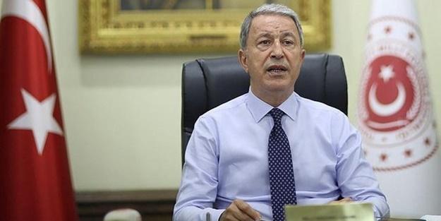 Milli Savunma Bakanı Hulusi Akar net konuştu! 'Geldikleri gibi giderler'