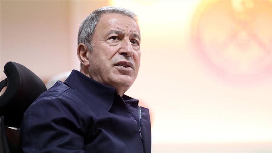 Milli Savunma Bakanı Hulusi Akar: Rejim ordusundan 18 kişinin Rusya'ya teslimi için görüşmeler sürüyor