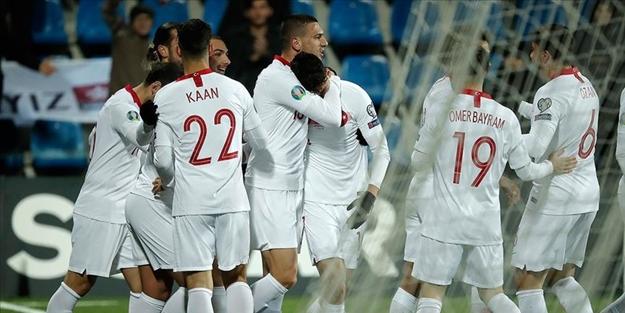 Andorra'yı 2 golle yenen Milli Takım, grup elemelerini 2. sırada bitirdi
