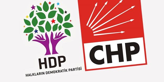Milliyetçi geçinen ittifak ortağı İP'ten çıt yok! HDP-CHP ortaklığı perçinleşiyor