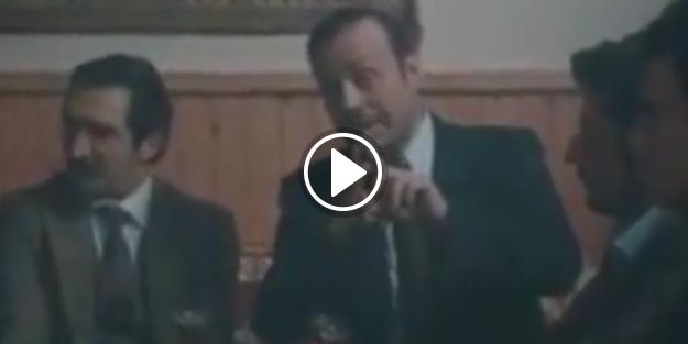 Erbakan ile Erdoğan'ın sahnesi ekranlara kilitledi