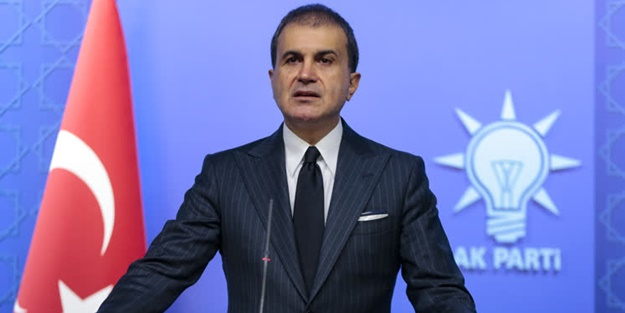 AK Parti Sözcüsü Ömer Çelik konuşuyor