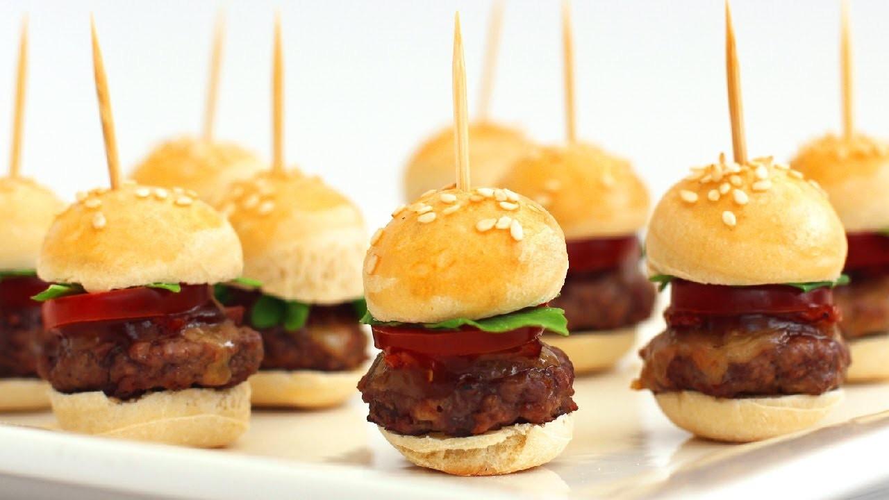 Mini hamburger nasıl yapılır? Mini hamburger tarifi