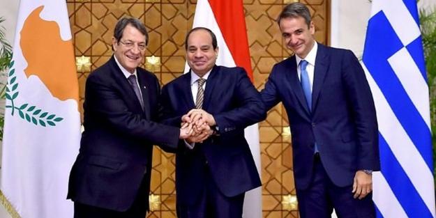 Mısır, Güney Kıbrıs ve Yunanistan operasyon öncesi toplandı: Derin endişe duyuyoruz