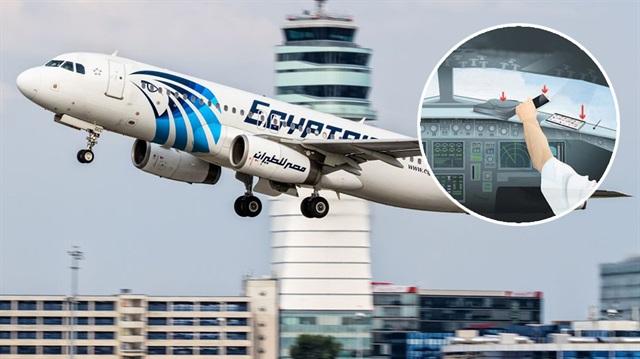 Paris-Kahire seferini yapan Mısır uçağını İphone mu düşürdü