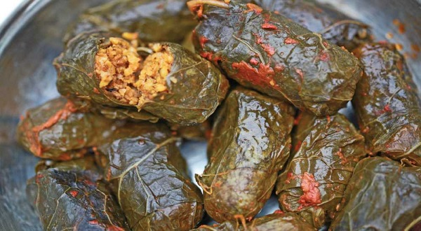 Mısır yarmalı lahana sarması tarifi