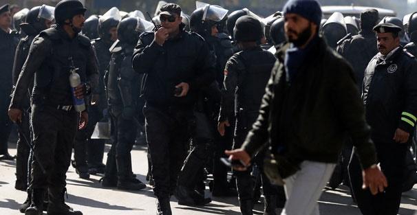 Mısır'daki cenazeye binlerce kişi katıldı