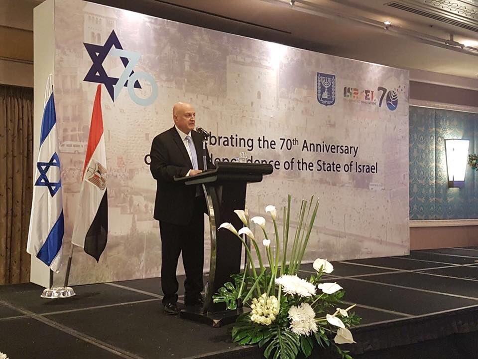 Mısır'daki İsrail kutlamalarına hangi Mısırlı yetkili katıldı?