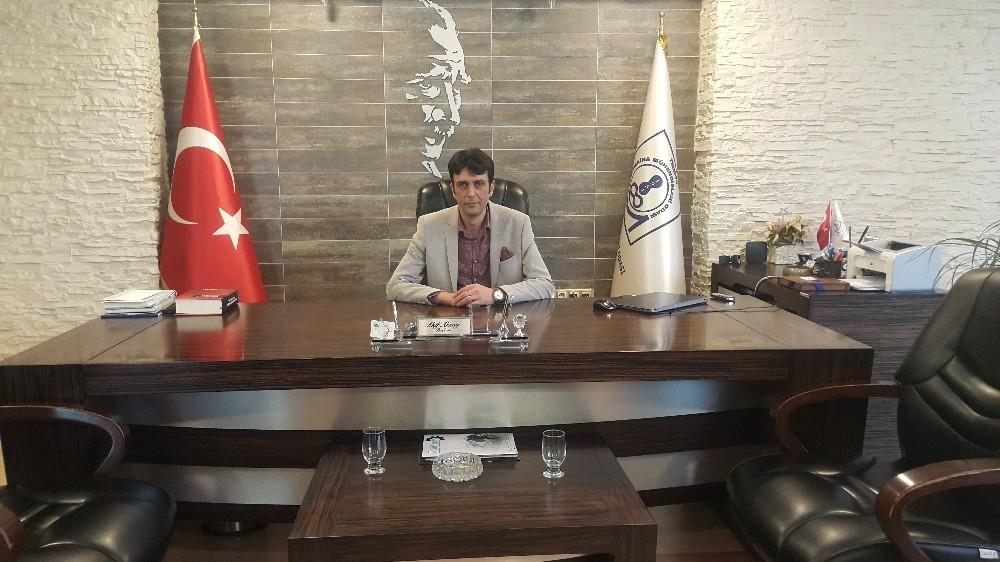 MMO Kayseri Şube Başkanı Aksoy'dan Miraç Kandili Mesajı