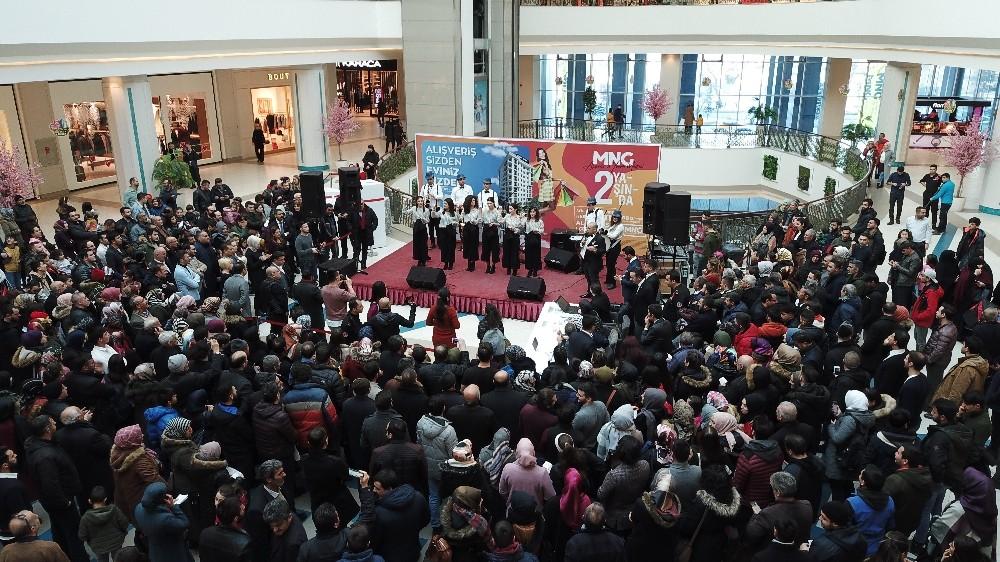MNG Erzurum Alışveriş ve Yaşam Merkezi Türkiye AVM'ler geneli katılım oranı bazında 1.sırada
