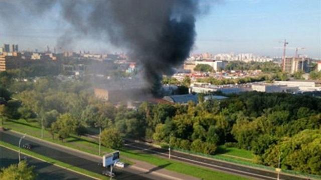 Moskova'da yangın: 16 kişi öldü