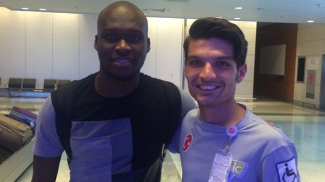 Moussa Sow İstanbul'a geldi