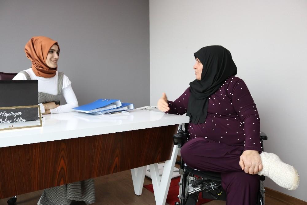 MS hastası kadın 4 ayda 19 kilo verdi