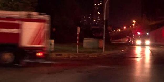 MSB'ye bağlı Kara Dikimevi Müdürlüğü'nde yangın paniği