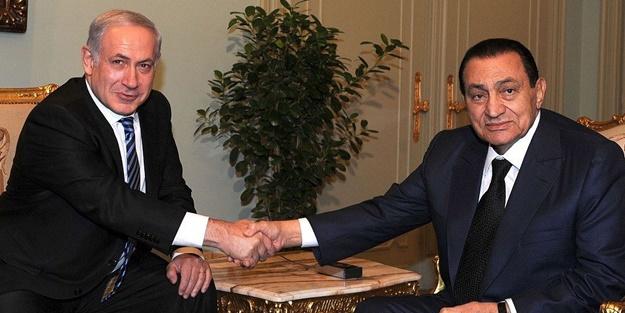 Mübarek'in ölümü katil Netanyahu'yu üzdü! 'Yakın dostumdu'