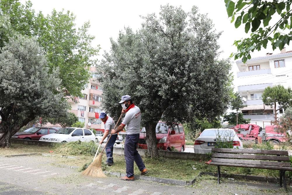 Mudanya'da yaz temizliği