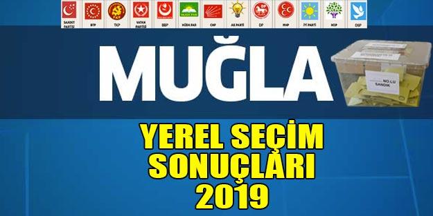 Muğla yerel seçim sonuçları 2019 | Muğla ve ilçelerinde yerel seçim sonuçları - Cumur ittifakı milet ittifakı oy oranları