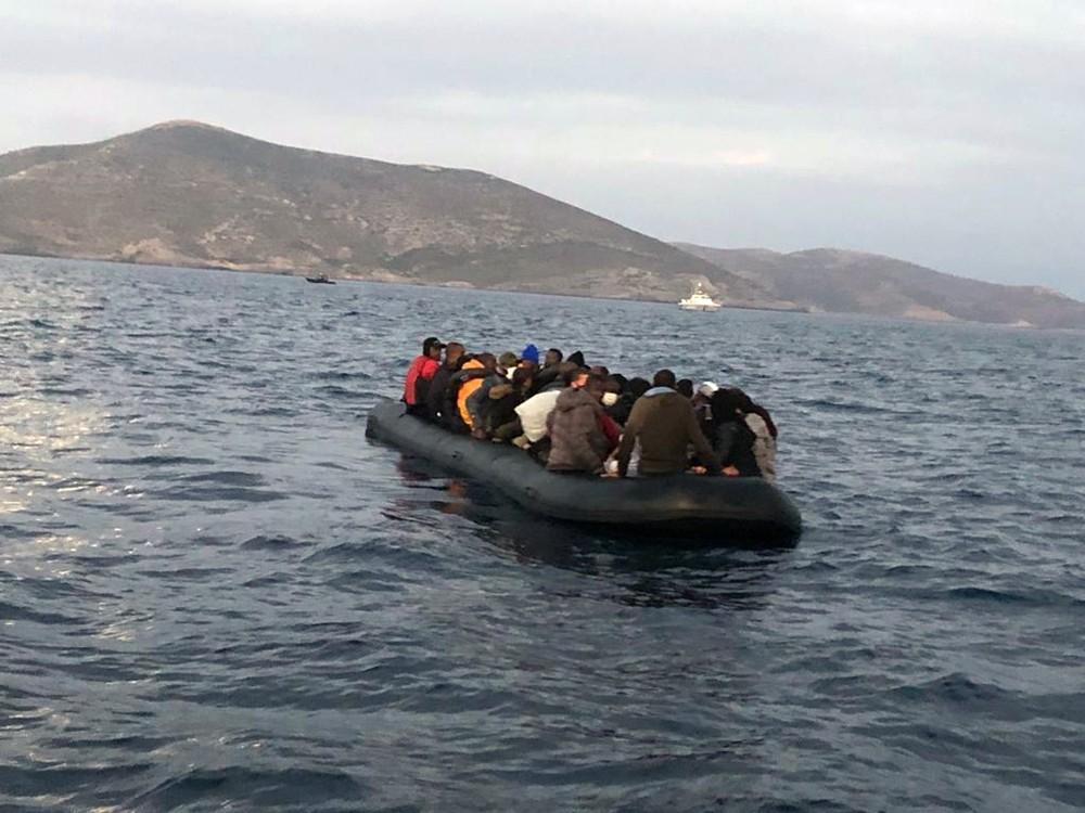 Muğla'da 41 düzensiz göçmen yakalandı