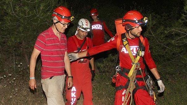Muğla'da kaybolan Hollandalı turisti AKUT ekibi buldu