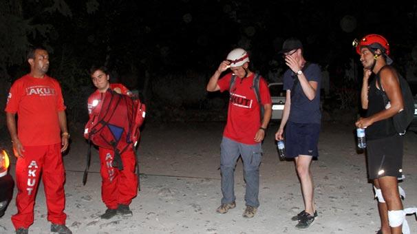 Muğla'da kaybolan iki turist böyle bulundu