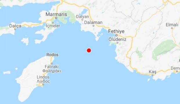 Muğla'da peş peşe depremler!