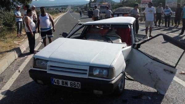 Muğla'da trafik kazası: 1'i bebek 5 yaralı