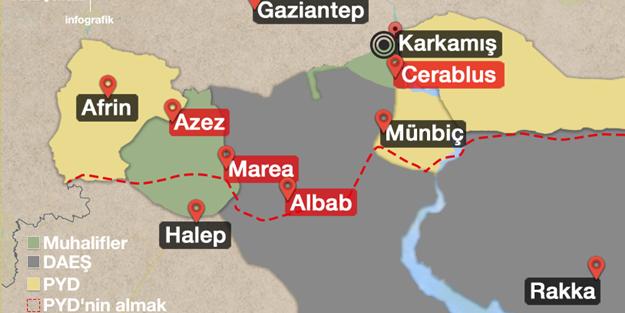 Muhalifler ve Türk ordusu yeni hedefini açıkladı