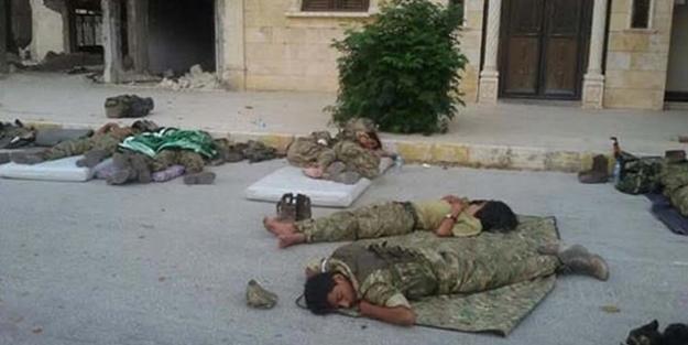 Muhaliflerin neden sokakta yattığı belli oldu!