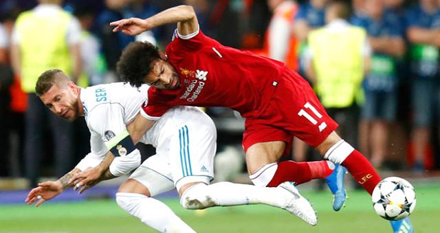 Muhammed Salah'tan Ramos'a sert cevap