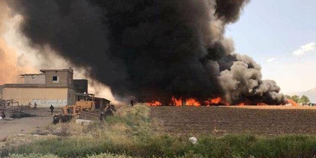 Mülteci kampı alev alev yanıyor! Çok sayıda ölü var!