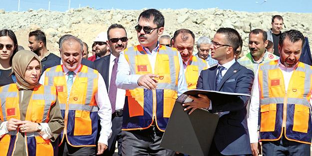 Murat Kurum: Operasyon bitince inşaat çalışmalarına başlayacağız