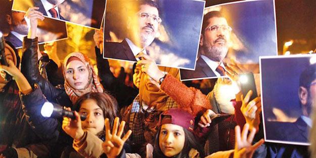 Mursi İstanbul'da unutulmadı