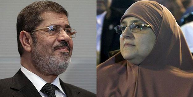 """""""Mursi'nin eşi öldü"""" iddialarına yalanlama!"""