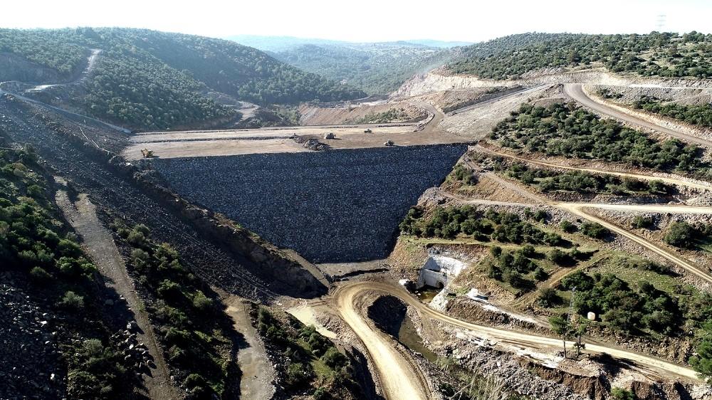 Musacalı Barajı'nın yarısı bitti