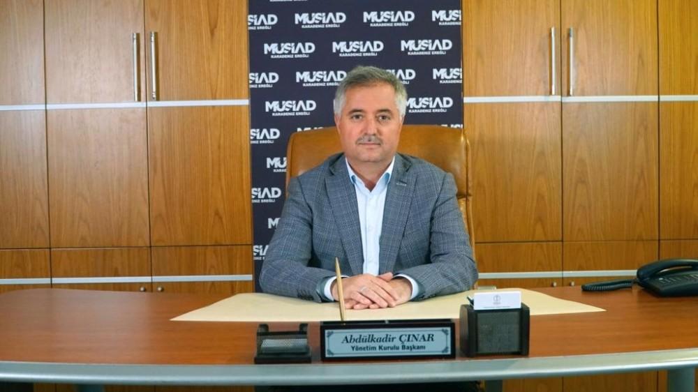 MÜSİAD Başkanı Çınar teşekkür etti