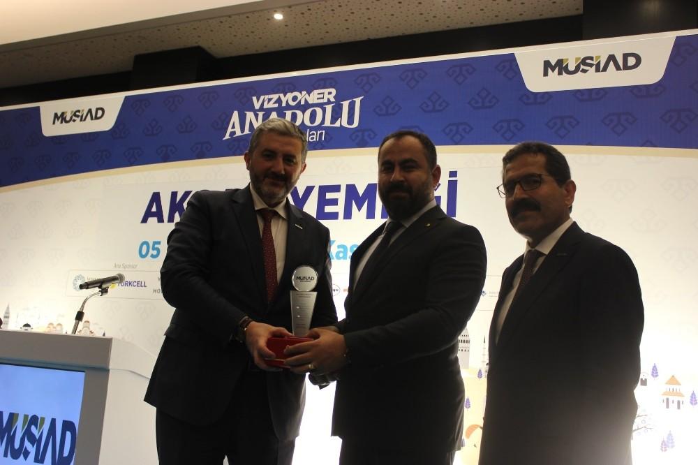 MÜSİAD Genel Başkan Kaan, Fındıkoğlu'nu ziyaret etti