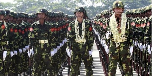 Budist Myanbar ordusundan bir zulüm daha