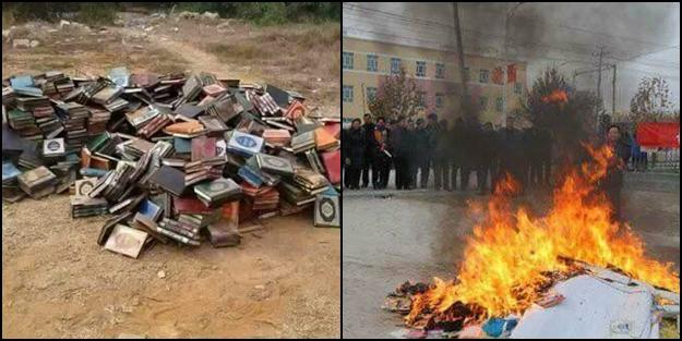 Müslümanlara Çin işkencesi