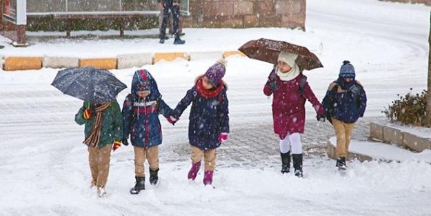 Muş'ta okullar tatil mi? 14 Şubat Cuma Bulanık, Hasköy, Korkut, Malazgirt, Varto ilçeler kar tatili
