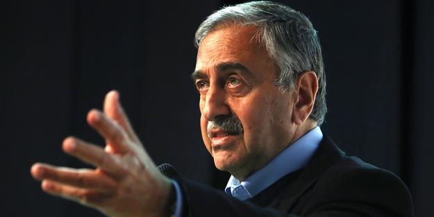 Mustafa Akıncı'ya