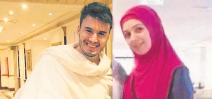 Mustafa Ceceli'nin eşi de hacı oldu