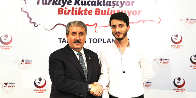 Mustafa Destici: CHP ava giderken avlandı