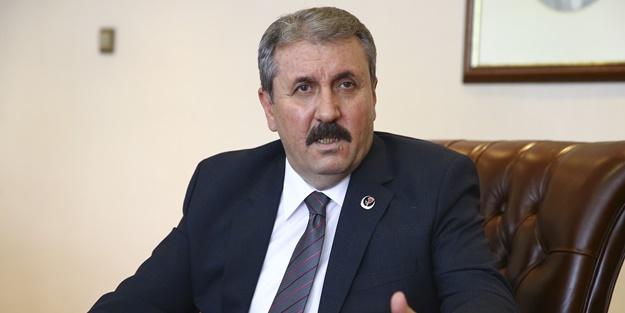 Mustafa Destici: Irak'ı Iraklılar yönetsin