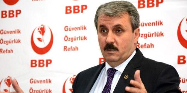 Mustafa Destici istediği koalisyonu açıkladı