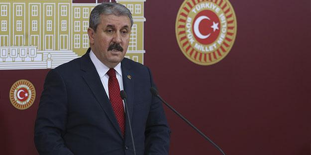 Mustafa Destici'den dikkat çeken Barış Pınarı Harekatı mesajı!