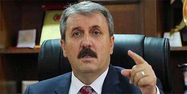 Mustafa Destici'den referandum açıklaması: Bu en hafifiyle ahlaksızlıktır