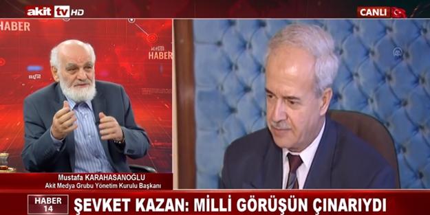 Mustafa Karahasanoğlu, Şevket Kazan'ı böyle anlattı