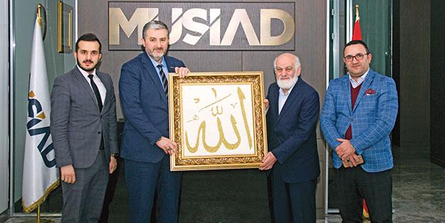 Mustafa Karahasanoğlu'ndan MÜSİAD'a 'Hayırlı olsun' ziyareti
