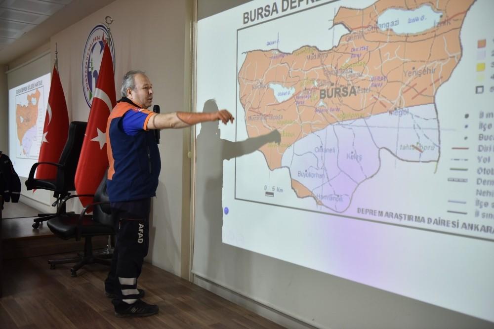 Mustafakemalpaşa Belediyesi afetlere hazır